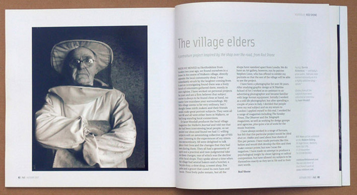 The village elders from AG Magazine